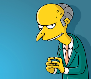 Image result for mr burns bad boss
